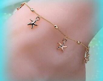 Starfish Anklet Bracelet Anklet