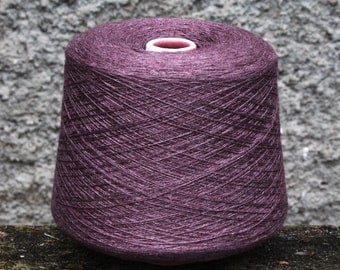 Cashmere + silk yarn on cone, per 100g