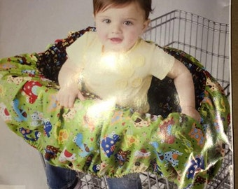 Simplicity Sewing Pattern 2109 Baby Toddler Easy Shopping Trolley Seat Cover