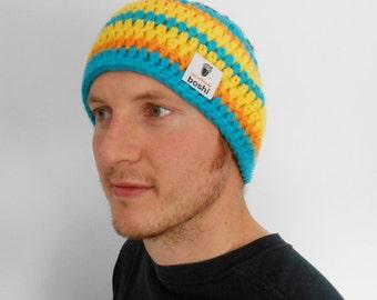 Colourful Headbands,  My Boshi, Winter Wear Ear Warmers, Unisex Adults Outdoor Wear Headgear, Messy Bun Beanie Pick Own Color, Made to Order