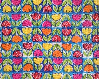 One Half Yard of Fabric - Tulips