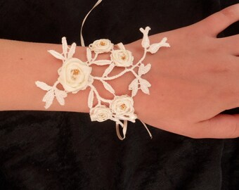 "Jewelry-Wedding ""Élodie"" Cuff Bracelet"