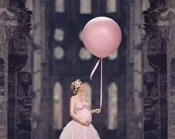 Hibiscus Tule Skirt l Skirt l Maternity Skirt l Tule Skirt l Maternity Photoshoot