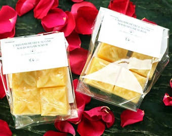 Cardamom True Sugar - Sugar Scrub Cubes