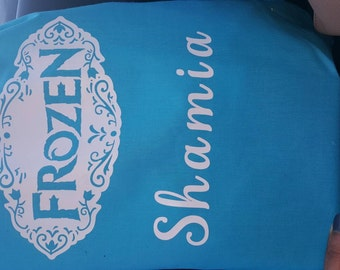 Custom Frozen Drawstring Bags