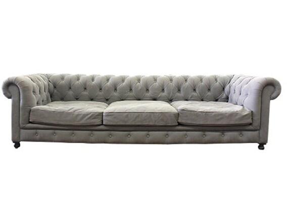 Restoration Hardware Kensington Three-Seat Sofa By