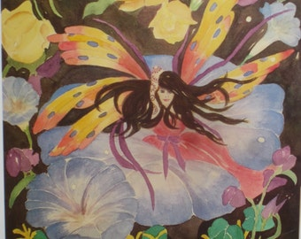 FAIRY Original print 5 x 7 card