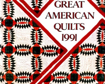 Great American Quilts, Oxmoor House, 1991