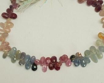 Natural Mix Sapphire Drops 74ct