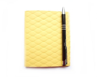 Notebook, square, rose quartz