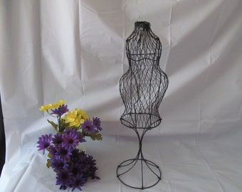 "15""  Tall Pregnant Mom Wire Form - To Use for Baby Shower Decorations"