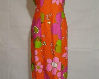 Alice Polynesian Fashion Dress - Medium/Large