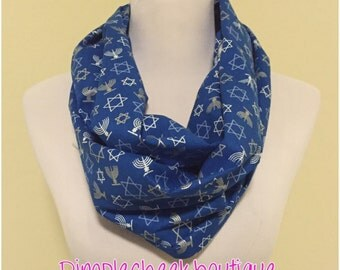 Star of David scarf