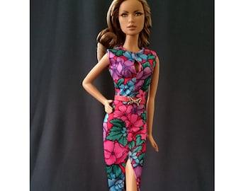 Dolls dress for Fashion royalty,,Silkstone,All barbie doll- No.052