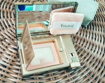 Vintage MOP Compact Lipstick Mirror Volupte