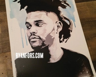The Weeknd Print