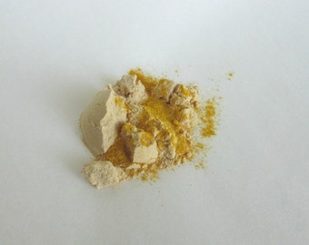 Organic Face Mask Sampler made with Organic Clays, Powders and Oils