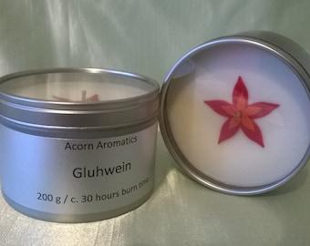 Gluhwein Soy Wax Candle Tin