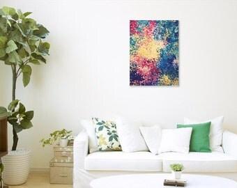 56 - original abstract painting (acrylic on canvas) wall art interior design homedecor