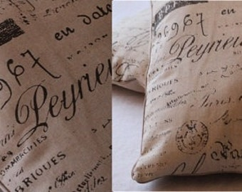 Use as template cushion pillow cover - vintage - reference to cushion cover