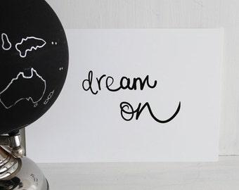 EKone - Dream on - A4 print