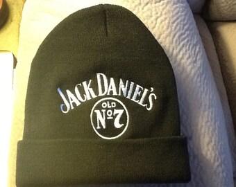 Jack Daniel's Old No. 7 Black Beanie Cap