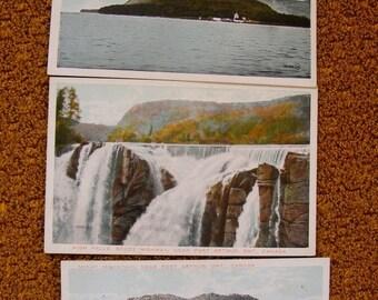 51% OFF Port Arthur Ontario Canada Lot of Three Antique White Border Postcards