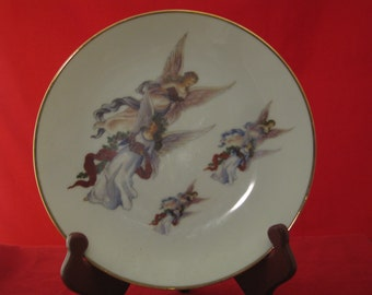 Angel collector plate
