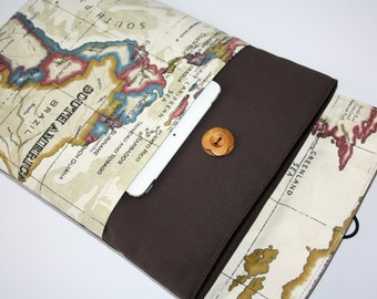 MacBook PRO 13 sleeve/Mac Book Air 13 sleeve/Mac Book Retina case 13,3 inch/Map Australie