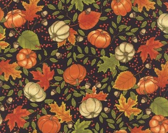 Moda Welcome Fall- Black, Fabric by the Yard