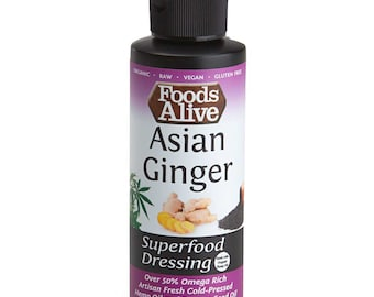 Asian Ginger Hemp & Black Sesame Oil Superfood Dressing (4 oz.)