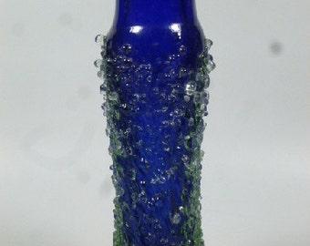 Czech art glass vase Svobodova Galaxy Skrdlovice