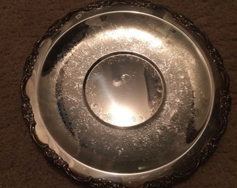 International Silver Company silver platter