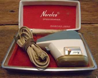 Vintage Working Norelco Electric Shaver