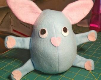Easter Egg Bunny Rabbit Plush Stuffie