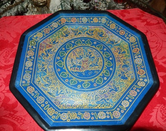 INDIA PAINTED PLATE
