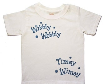 V-DAY SALE Dr. Who, Toddler Tee, Timey Wimey