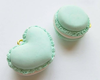 ADD-ON: Macaroon Sweets Charms for chokers, collars, cuffs