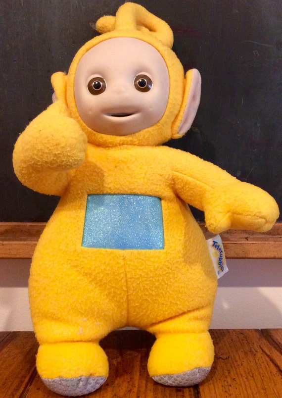 1990s Laa Laa Talking Teletubbies Plush Doll By Lalecreations