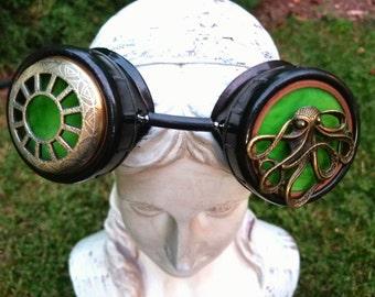 Lovecraftian Airship Goggles