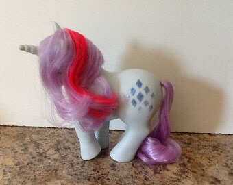 G1 My Little Pony SPARKLER: Unicorn Pony MLP