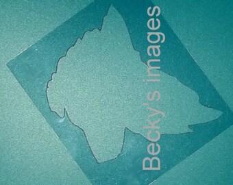 Puppy Bows ~ Sheltie Shetland Sheepdog dog breed plastic craft stencil
