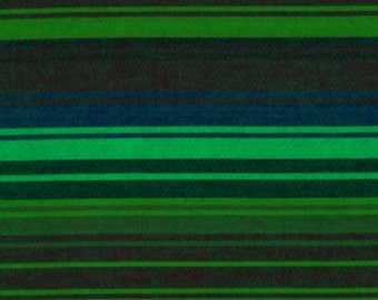 EXOTIC STRIPE MALLARD Woven wexotic.mallard  by  Kaffe Fassett fabric sold in 1/2 yard increments