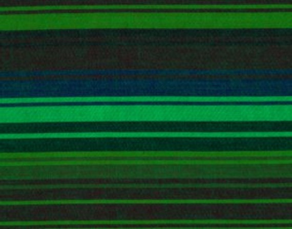 EXOTIC STRIPE MALLARD Woven wexotic.mallard  by  Kaffe Fassett fabric sold in 1/2 yard increments