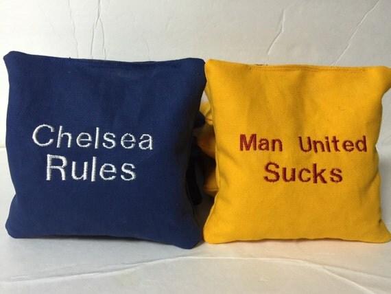 Custom Cornhole Bags Names Or Teams Corn Hole Bags
