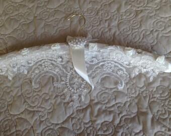 Wedding dress hanger.   Ball dress hanger. Prom dress hanger