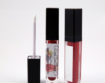 Luxe Lip Kandy Tinted Lip Gloss in FRUIT PUNCH with Built-in Mirror - Vegan