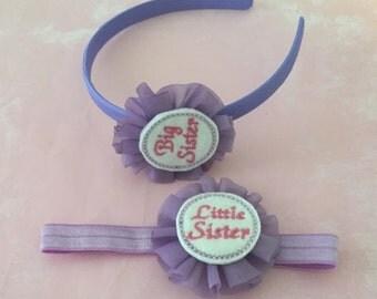 Big Sister & Little Sister Headband