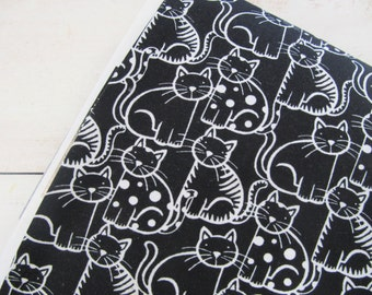 The Cat's Meow - Packed Cats - Ink & Arrow Fabrics - Quilting Treasures