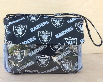 Stroller Bag-  Raiders